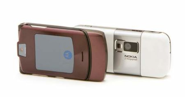 Orange releases the Motorola RAZR and Nokia 6233 in new colours - photo 3