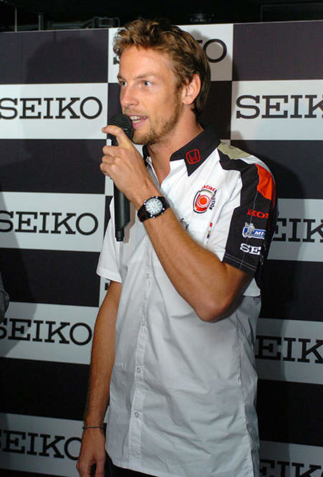 Racing watch from Seiko has Jenson Button's seal of approval - photo 2