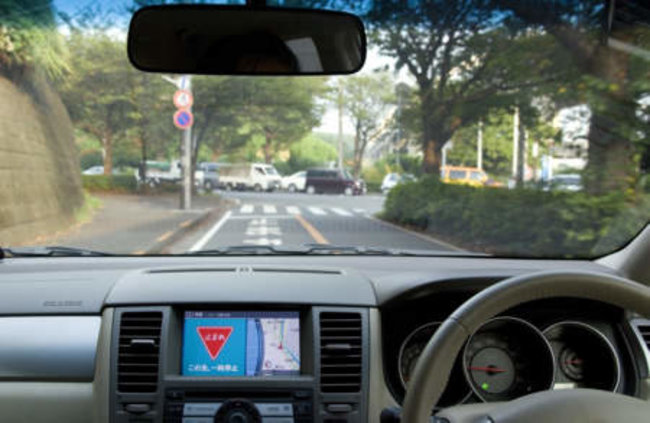 Nissan tests intelligent transportation system Image