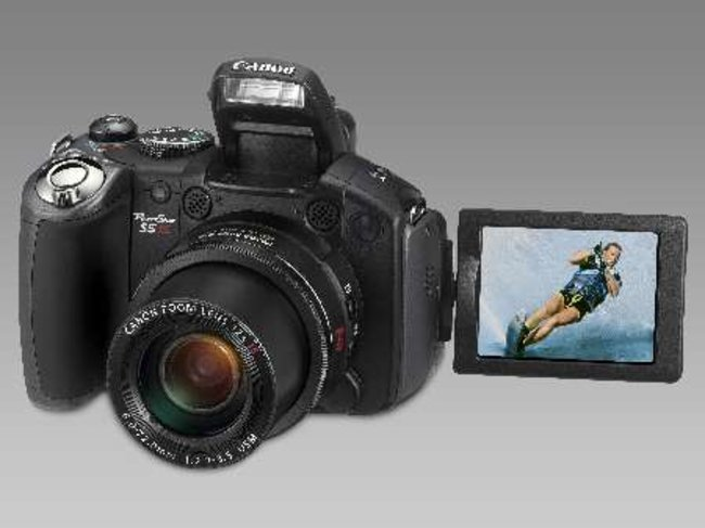 New Canon PowerShot S5 IS to hit shelves in June - photo 2