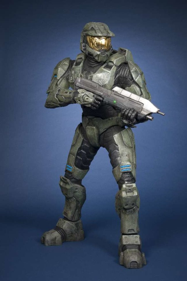 Halo's Master Chief to be immortalised in wax for Madame Tussauds   - photo 2