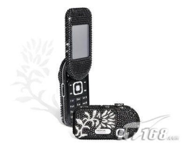 Nokia 7373 gets Swarovski treatment  - photo 2