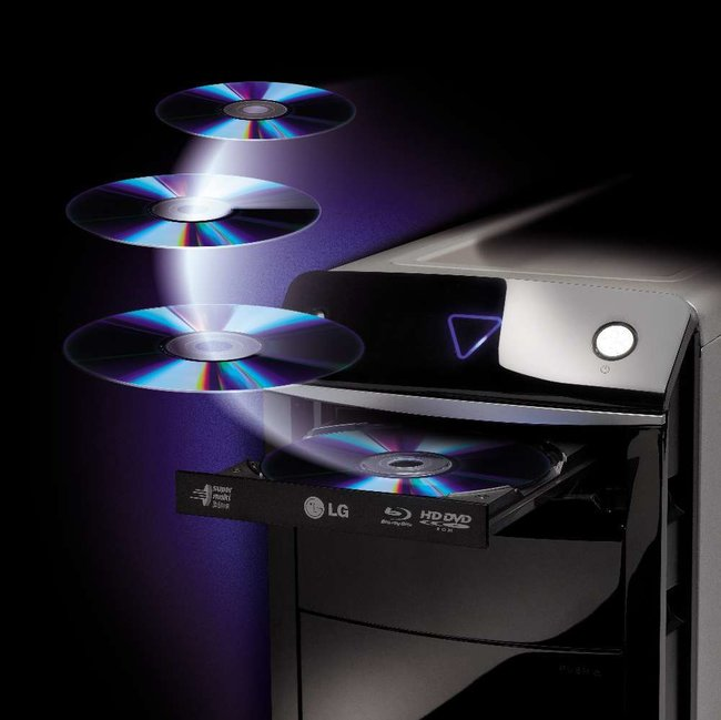 Medion launches HD DVD and Blu-ray multimedia PC  - photo 1