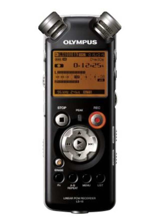 Olympus launches LS-10 voice recorder - photo 2