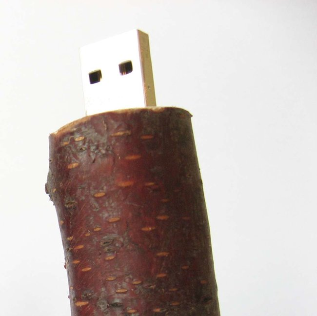 "Renewably-sourced wooden USB ""FlashSticks"" available - photo 1"