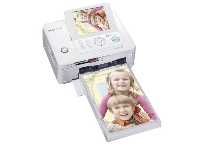 Sony launches compact photo printers  - photo 2