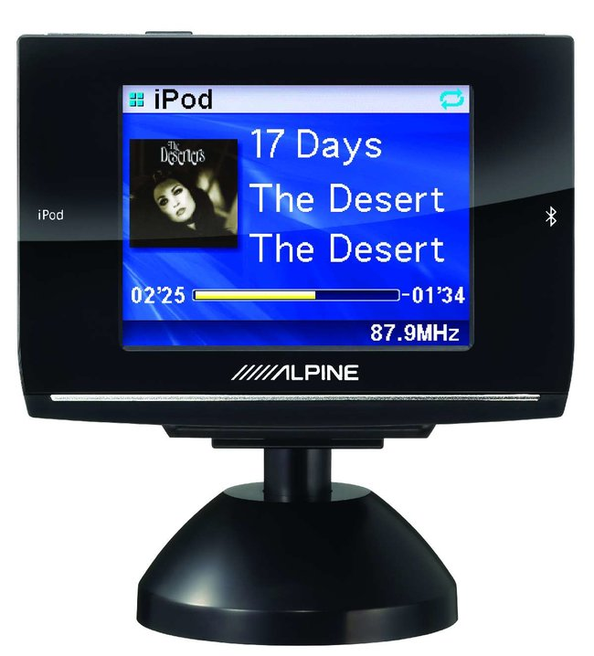 Alpine launches FM and Bluetooth transmitter for car stereos  - photo 2