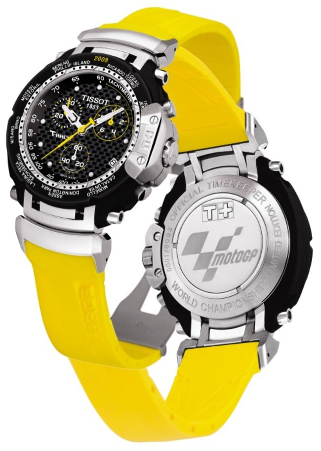 Tissot launches limited edition Moto GP watches  - photo 2