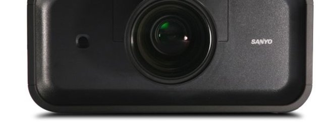 Sanyo's new 4LCD projector - the PLC-XP200L - photo 2