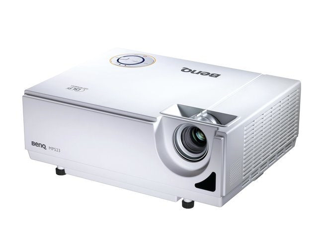BenQ debuts MP523 DLP projector  - photo 3