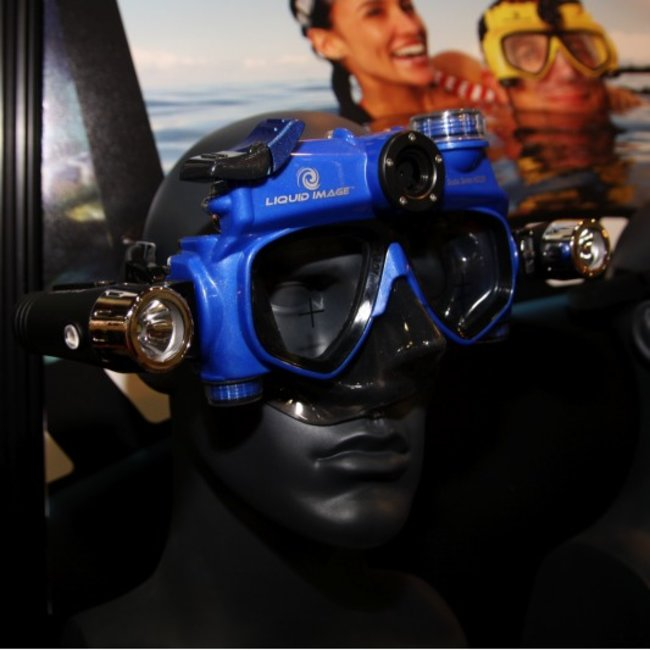 Liquid Image improves video scuba mask - photo 1