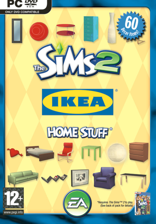 Ikea furniture for Sims 2 - photo 1