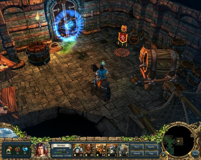 Ascaron teams with Nobilis for new RPG, King's Bounty: The Legend - photo 3