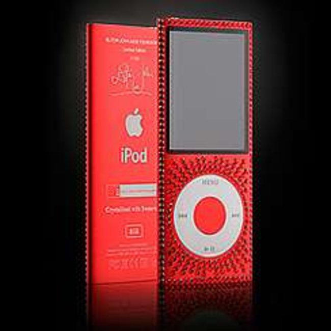 Elton John launches blinged charity iPods - photo 1