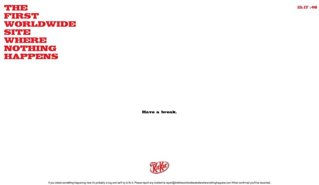 Kit Kat's new site lets you have a break  - photo 2