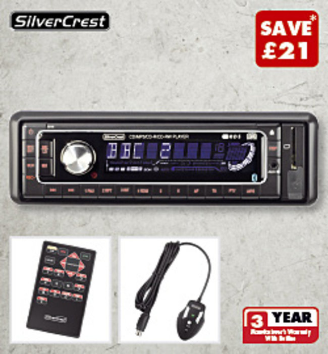 Daily Tech Deal: CD/MP3 car radio with Bluetooth under £50 - photo 2