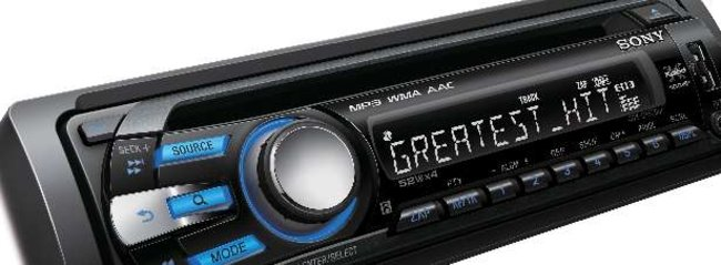 Sony launches new Xplod car stereos - photo 2