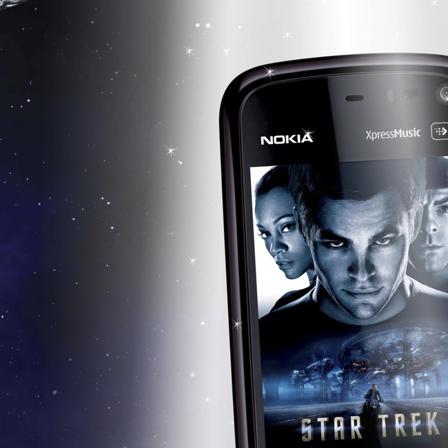 Nokia 5800 Star Trek edition announced - photo 1