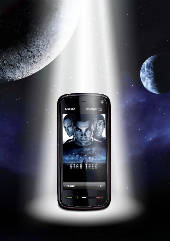Nokia 5800 Star Trek edition announced - photo 3