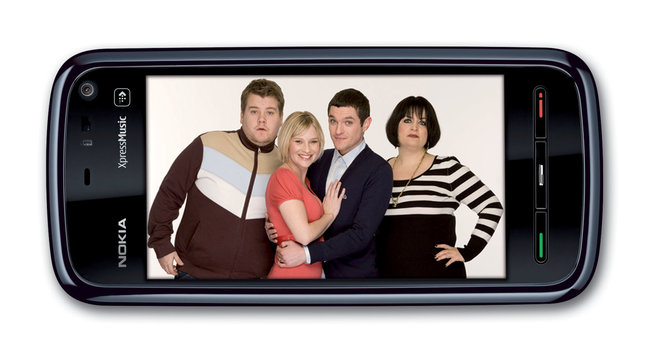 "Nokia offers ""Gavin and Stacey"" edition 5800 - photo 3"