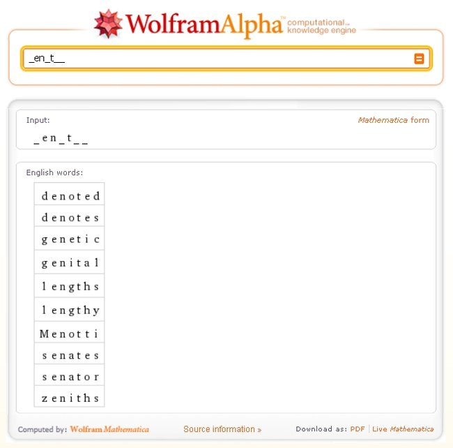 Wolfram Alpha's secret weapon revealed  - photo 2