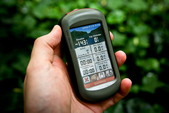 Garmin Oregon 550t - photo 2