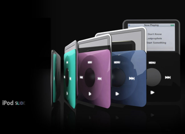 iPod slide concept revealed - photo 2
