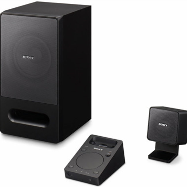 Sony pumps up PC speakers with iPhone dock  - photo 1