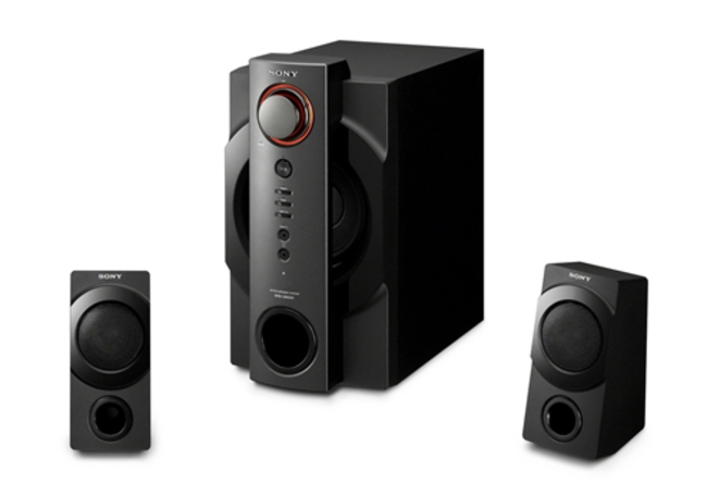Sony pumps up PC speakers with iPhone dock  - photo 3
