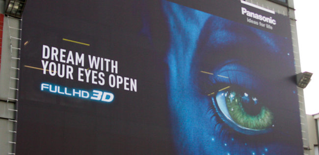 Panasonic shows off full HD 3D by plasma - photo 4