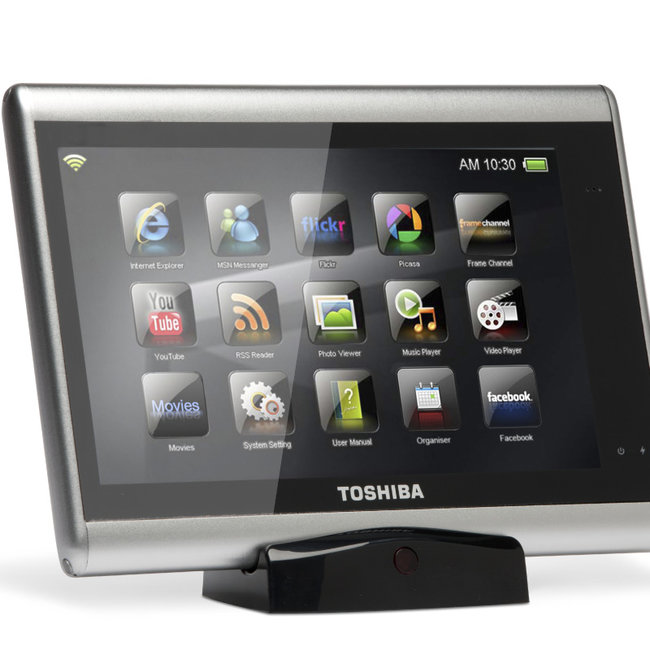 Toshiba goes tablet with the Journe Touch - photo 1