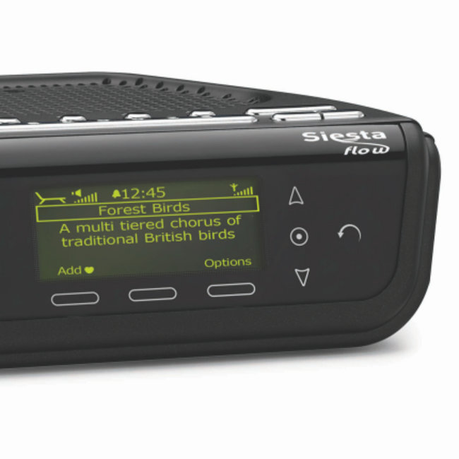 Pure announces Siesta Flow alarm clock internet radio - photo 1