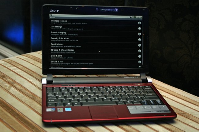 Acer Aspire One D250 with Android - photo 4
