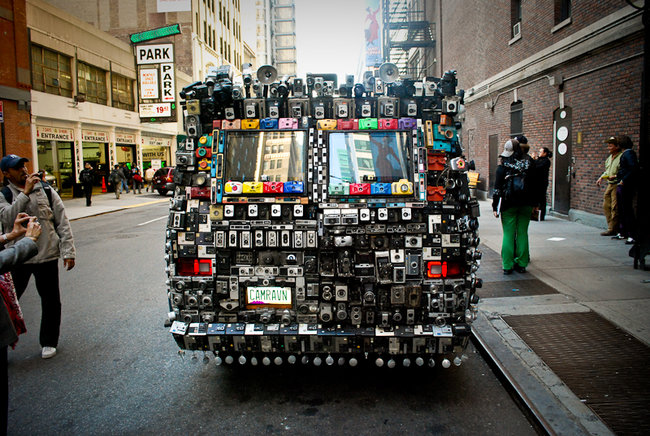 What the Google Street View car could have looked like - photo 5