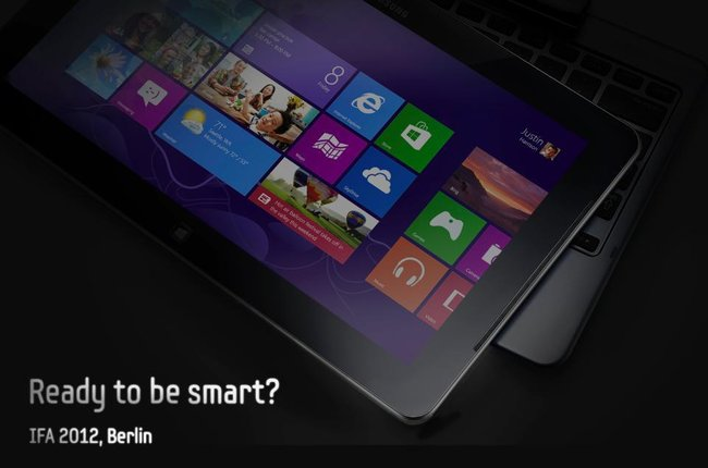 A poster teaser for a Samsung products that hit to a Tablet Laptop hybrid