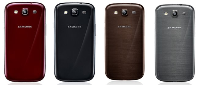 Samsung Galaxy S3 goes colourful with new nature-inspired colours. Phones, Samsung Galaxy S III, Samsung 0