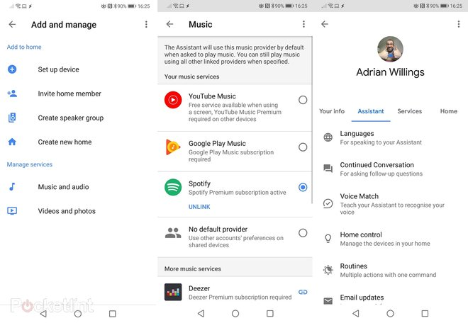 google music manage family