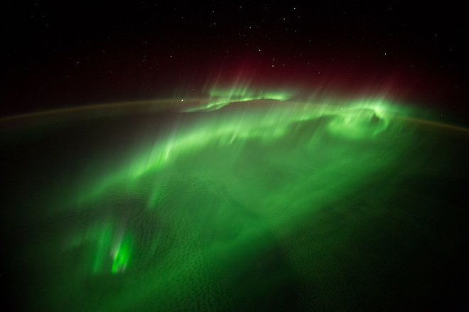 images from the International Space Station