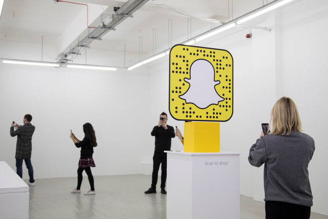 This Lego Wear pop-up shop in London requires Snapchat