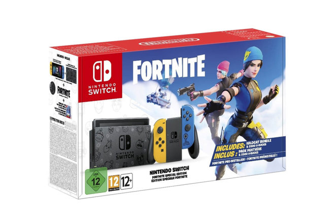 The Fortnite-themed Nintendo Switch bundle is now available to preorder