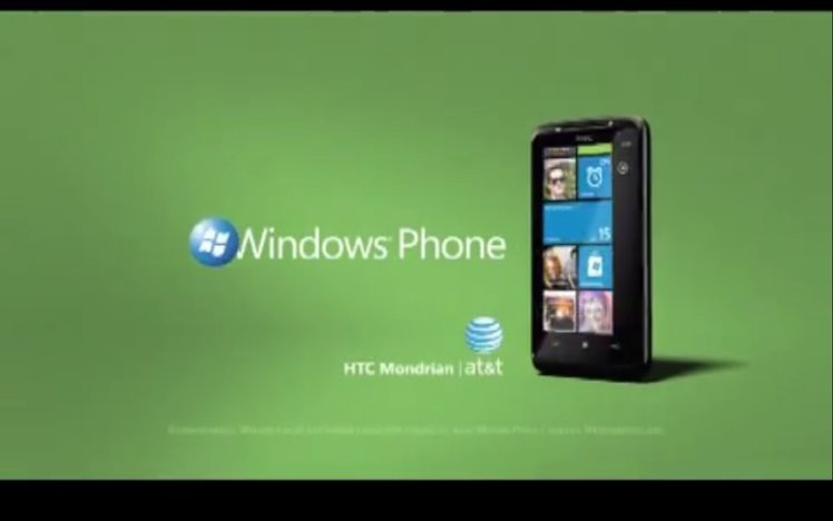 HTC Mondrian gets two AT&T adverts, forgets it's not been ...