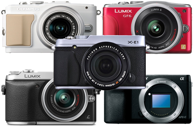 Best compact system cameras