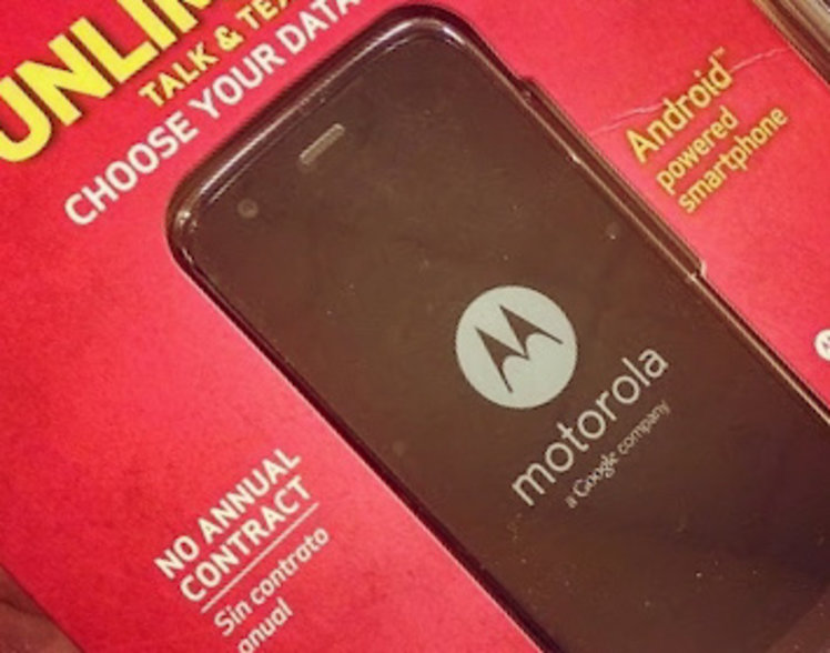 Verizon's contract-free Moto G