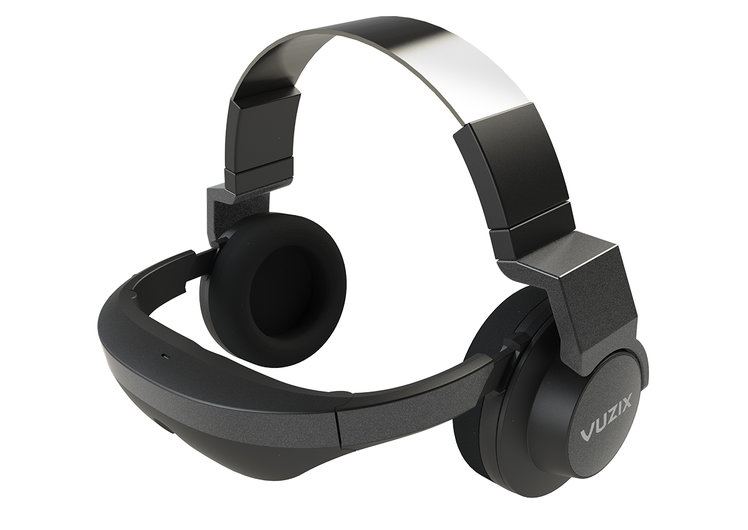 Vuzix V720 video headphones