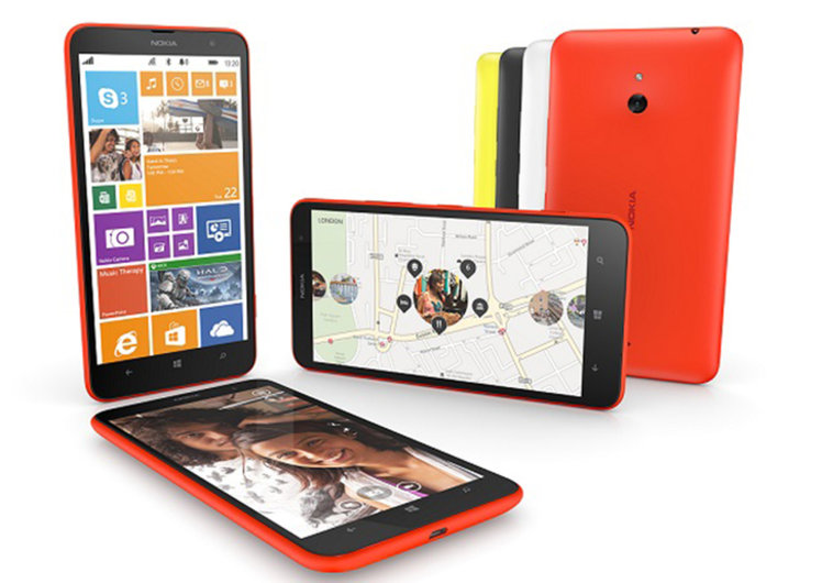 Nokia Lumia 1320 phablet is