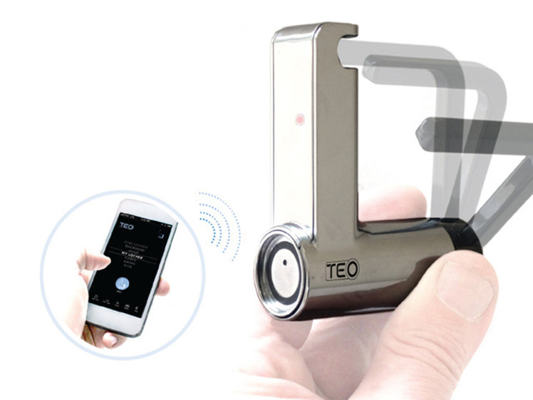 Teo keyless smart padlock uses
