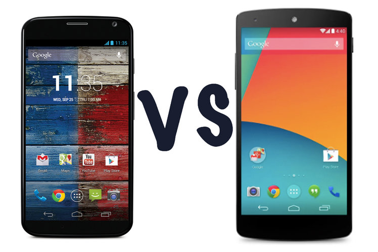 Moto X vs Nexus 5: What's the
