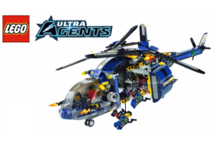 Lego relaunching Ultra Agents