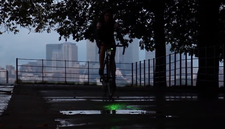 Bike laserlight wants to cut