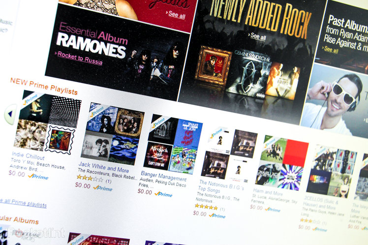 Amazon Prime Music expands by